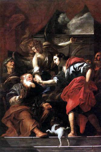 Peter Johann Brandl - The healing of the blind Tobias
