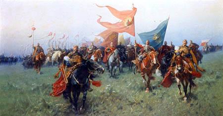 Józef Brandt - Polnische Kavallerie - Bodurodzica