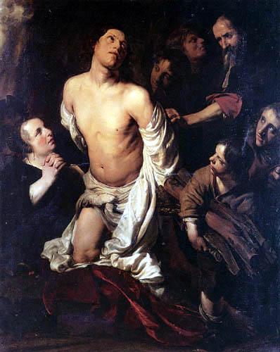 Salomon de Bray (Braij) - The Martyrdom of Saint Lawrence