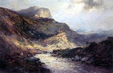 Alfred de Breanski - Glencoe