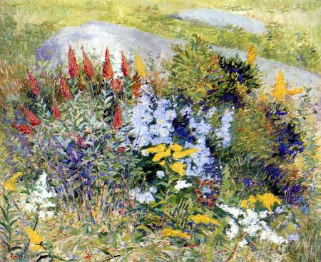 John Leslie Breck - Steingarten in Giverny