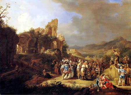Bartholomeus Breenbergh - John the Baptist