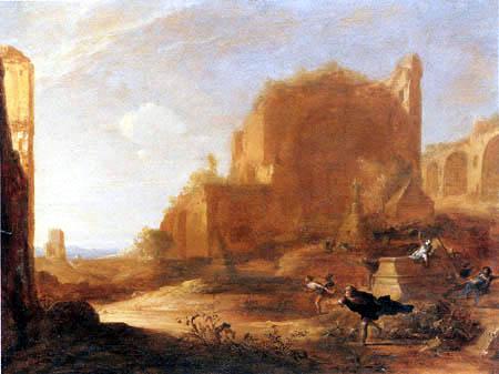 Bartholomeus Breenbergh - Resurrection of Christ