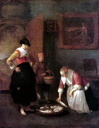 Gerritsz. Van Brekelenkam - Fishwoman