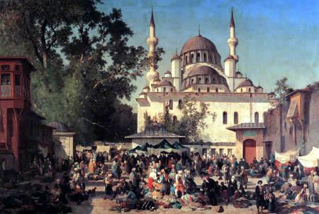 Germain Fabius Brest - Khan der Sultan Valide, Konstantinopel