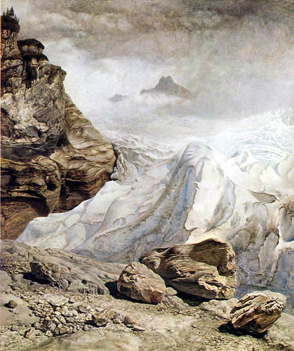 John Brett - Der Gletscher von Rosenlaui