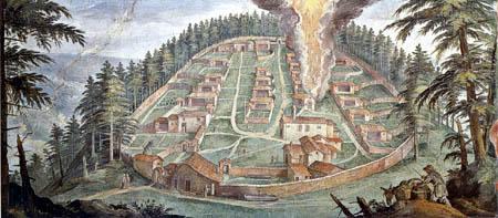 Paul Bril(l) - Kloster von Camaldoli