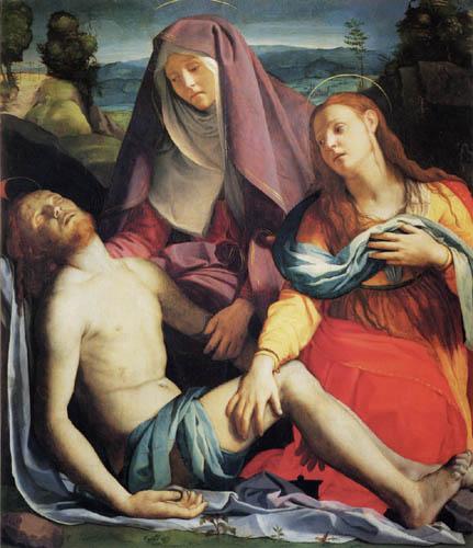 Il (Agnolo) Bronzino - Pieta