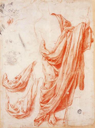Il (Agnolo) Bronzino - Noli me tangere, Studie