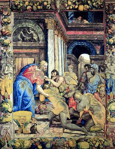 Il (Agnolo) Bronzino - Joseph gibt sich seinen Brüdern zu erkennen