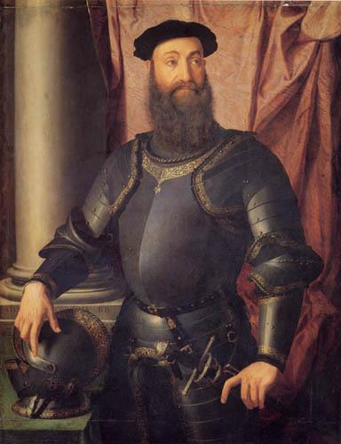 Il (Agnolo) Bronzino - Bildnis des Stefano Colonna