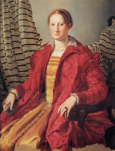 Il (Agnolo) Bronzino - Bildnis einer Edeldame