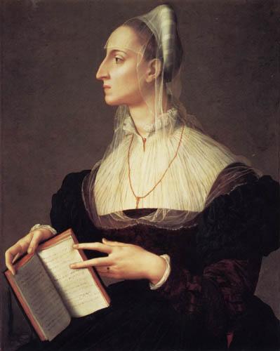 Il (Agnolo) Bronzino - Die Dichterin Laura Battiferri