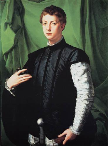 Il (Agnolo) Bronzino - Bildnis des Ludovico Capponi