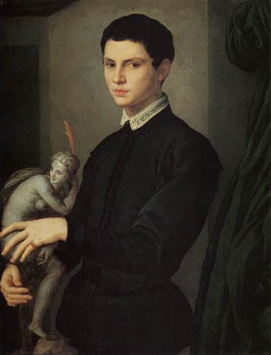 Il (Agnolo) Bronzino - Bildnis eines Bildhauers