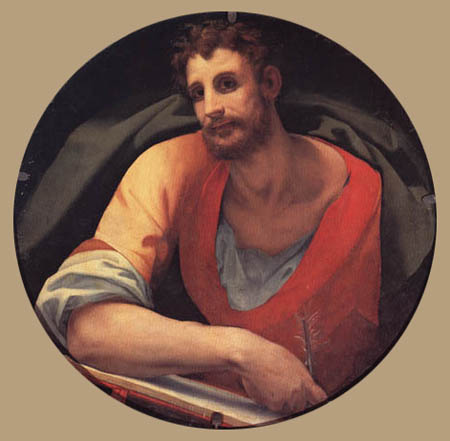 Il (Agnolo) Bronzino - Der Evangelist Markus