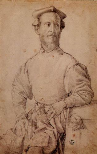 Il (Agnolo) Bronzino - Bildnis von Pontormo