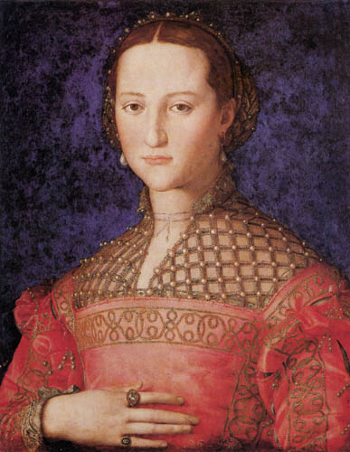 Il (Agnolo) Bronzino - Bildnis der Eleonore von Toledo