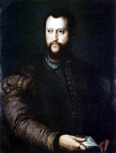 Il (Agnolo) Bronzino - Bildnis des Cosimo I.de Medici