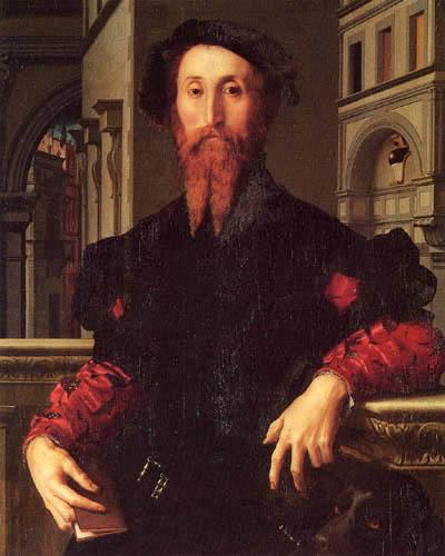 Il (Agnolo) Bronzino - Bildnis des Bartolomeo Panciatichi