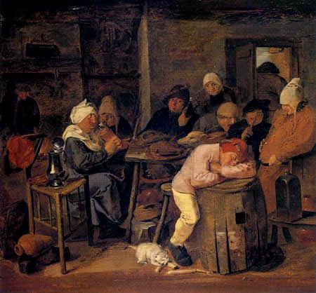 Adriaen Brouwer - Farmer party