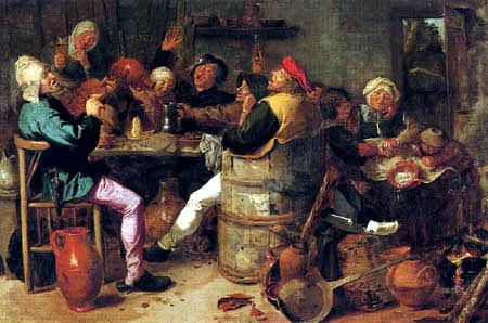Adriaen Brouwer - Celebrating farmers