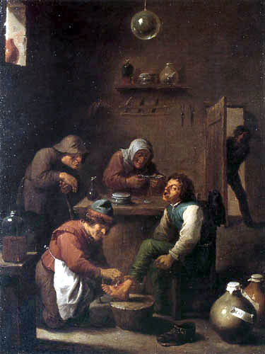Adriaen Brouwer - Opération chirurgicale