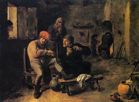 Adriaen Brouwer - In the Tavern