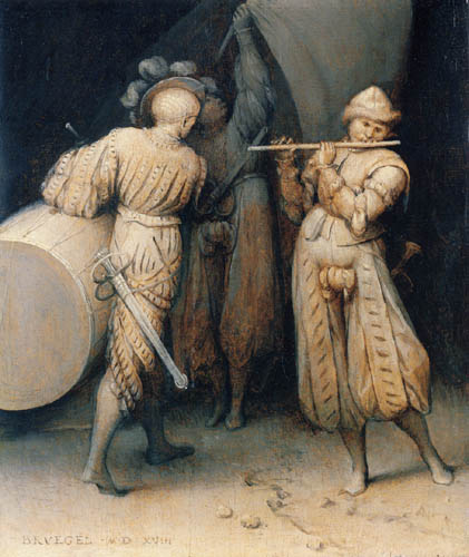 Pieter Brueghel the Elder - The three soldiers