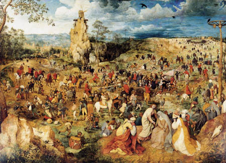 Pieter Brueghel the Elder - Cruciferous Christ