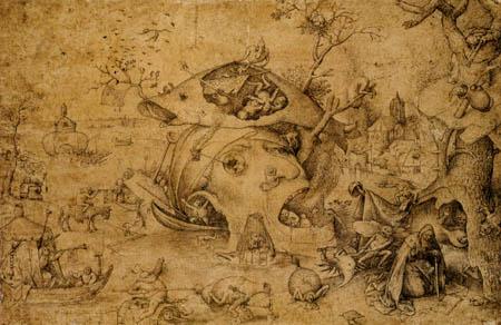 Pieter Brueghel the Elder - The temptation of the St  Anthony