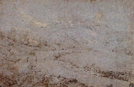 Pieter Brueghel the Elder - River landscape