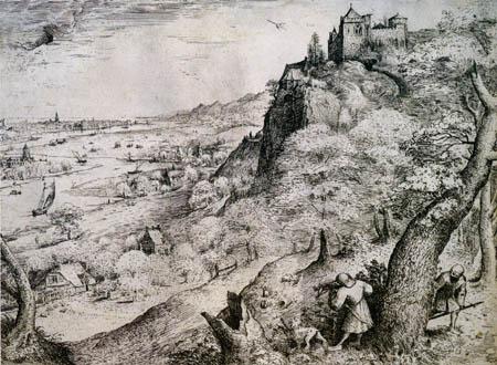 Pieter Brueghel the Elder - Kaninchenjagd