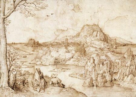 Pieter Brueghel der Ältere - Ruhe auf der Flucht