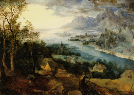 Pieter Brueghel the Elder - Landscape with the Parable of the Sower