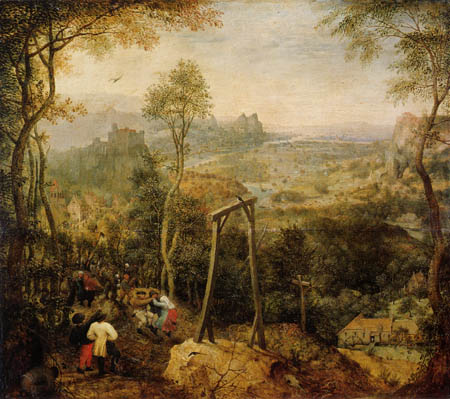 Pieter Brueghel the Elder - The magpie on the gallows