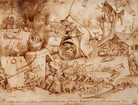 Pieter Brueghel the Elder - The seven vices