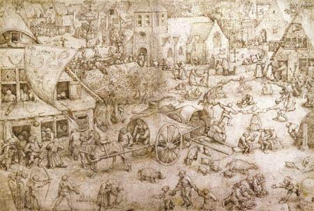 Pieter Brueghel the Elder - Kermes van Hoboken