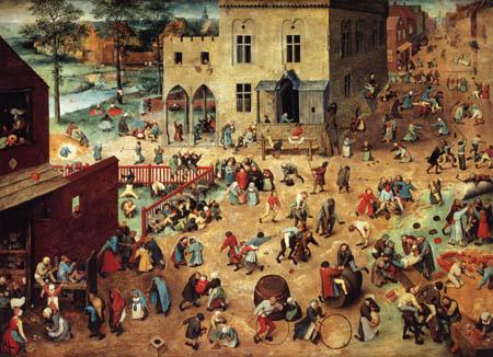 Pieter Brueghel the Elder - Childrens´Game