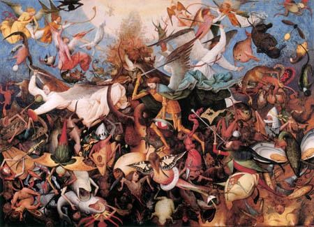 Pieter Brueghel der Ältere - Der Sturz der rebellischen Engel