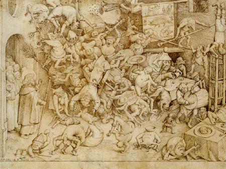 Pieter Brueghel the Elder - Hermogenes und Jakob