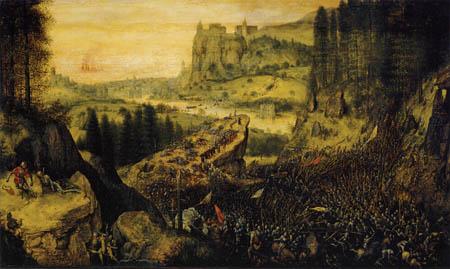 Pieter Brueghel the Elder - Suicide of Saulus