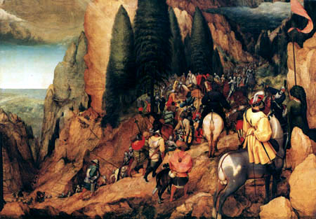 Pieter Brueghel der Ältere - Bekehrung des Paulus