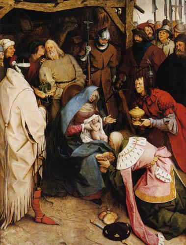 Pieter Brueghel der Ältere - Die Anbetung der Könige