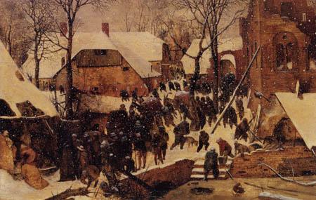 Pieter Brueghel el Viejo - El Adoratión de los Reyes