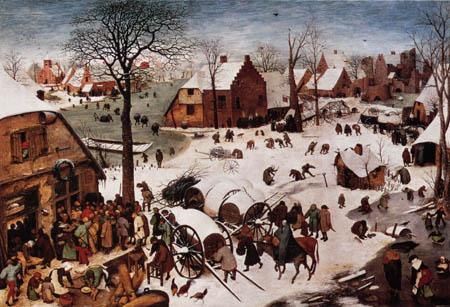 Pieter Brueghel der Ältere - Die Volkszählung in Bethlehem