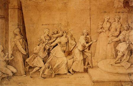 Pieter Brueghel the Elder - The defamation of Apelles