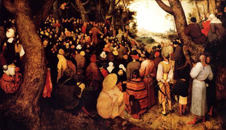 Pieter Brueghel der Ältere - Predigt Johannes des Täufers