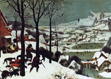 Pieter Brueghel the Elder - Hunter in the snow