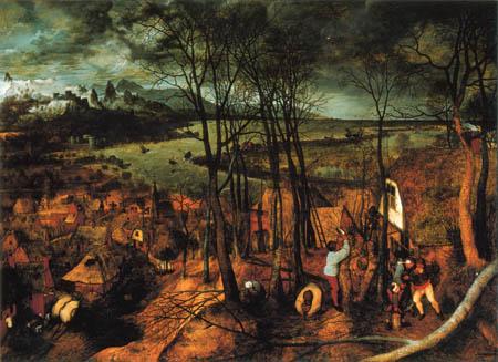 Pieter Brueghel the Elder - The dark day